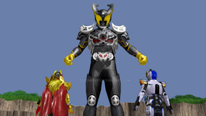 MMD NC - Kamen Rider Arc (BattRide War 2) by Zeltrax987