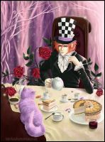 Madhatter and Cheshire Cat by KarlaFrazetty