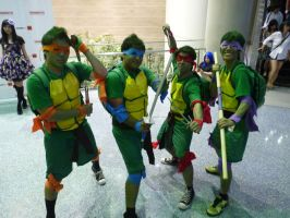TMNT Cosplay by OPlover