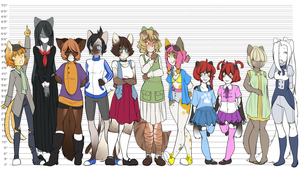 The Ragamuffin Eleven by MagicalZombie