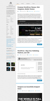 A - Personal Blog WordPress Theme by ithilius