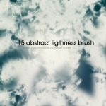15 abstract ligthness brushes by rokama