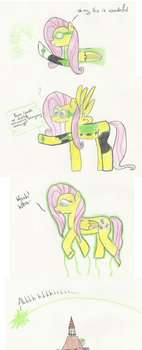 Ask Green Lantern Fluttershy 4 by The-rogue-shadow
