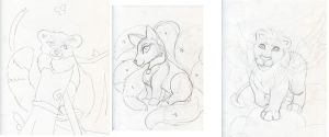 Akon Sketch Pile 3 of 4 by Starrydance