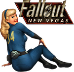 Fallout 3 - New Vegas Desktop Icon (revision) by Ace0fH3arts
