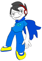 John's New Blue Outfit by SnapdragonSoda