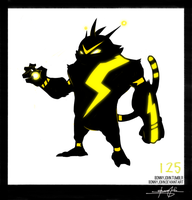 Electabuzz!  Pokemon One a Day! by BonnyJohn