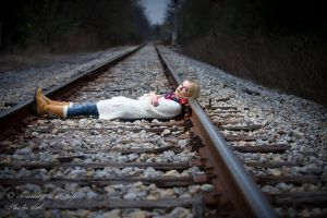 lying on the track by Tommy8250