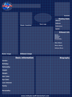 Beyblade Character Sheet BLANK by Sabor-X