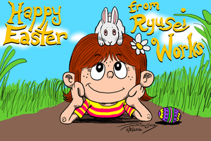 Happy Easter 2012 by ryuuseipro