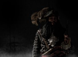 Me as Blackbeard (picture by ISKY design) by DutchDarthMaul