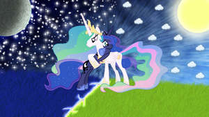 The sun and stars by JamesG2498