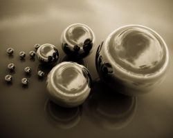 Reflections Aged Wallpaper by 2753Productions