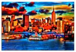 NYC Sunset by photoman356