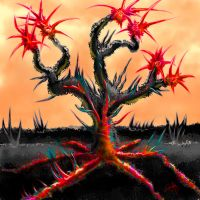 Bloody Widow Tree by gusti-boucher