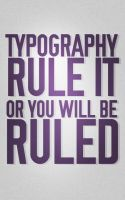 Typography Law by SpiderIV