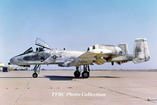 YA-10A Pre-production aircraft No.5, 73-1668 by fighterman35