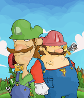 The Plumbers by Porcodotranstorno