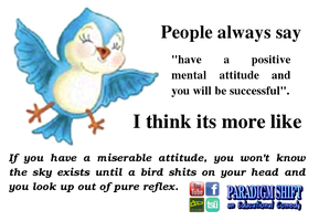 Perspectives of Attitude by paradigm-shifting