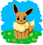 Eevee by wolfypuppy