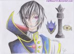 Lelouch: Hero and Villain by Mathieux12
