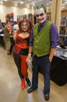 Harley and the Joker by LolitaLibrarian