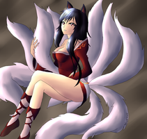 Ahri by Inlinverst