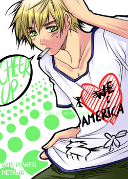 APH: Cheer Up, America by tofumi