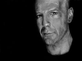 Bruce Willis by rcrosby93