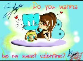 Do you wanna be my sweet valentine? by SfinJe