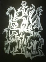 Graffiti Name 1 by KinKiat