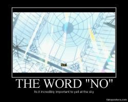 The Word No V.2 by RavenSnipper