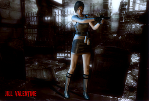 Jill Valentine 1: Survival Glamour by PhilipMessina