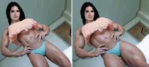 Angie Harmon beefed up by Turbo99