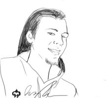 Sketch book express portrait by woody21