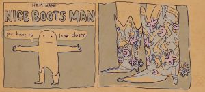 Nice Boots Man by Fish-man