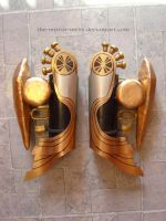 Shiva FXIII Forearm Armor by the-mirror-melts