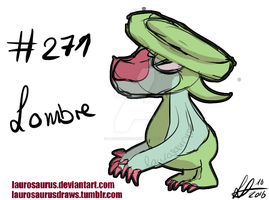 A year of pokemon: #271 Lombre