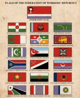 Flags of the FWR by edthomasten