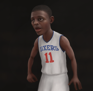 Jrue Holiday by CoreyGallagher