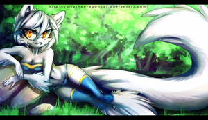 .: In the forest :. by JuliaTheDragonCat