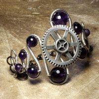 Steampunk Bracelet Y by CatherinetteRings
