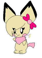 Rachel the Pichu by InsaneVaporeon