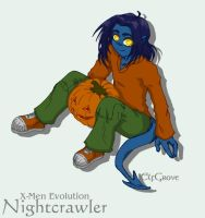 X-Men Evolution - Nightcrawler by elfgrove