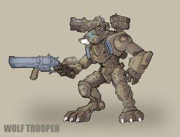 Wolf Trooper by jdcunard