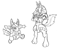 Who's that Fakemon? It's Chibis and Anubeast! by Trueform