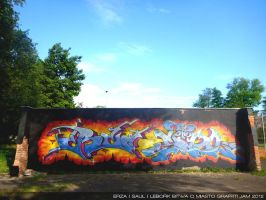 Lebork Graffiti Jam 2012 BIG by TheSaulOne