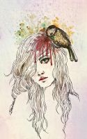 A Little Bird Infected My Mind by raskina
