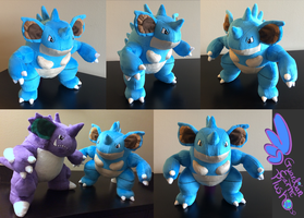 Nidoqueen Pokemon Plush! 13'' Arms Bend!