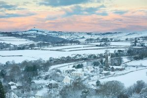 Peter Tavy Winter Morning by Alex37
